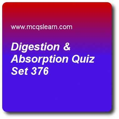 The Absorption Of Chlorophyll Worksheet Answers together with Digestion & Absorption Quizzes College Biology Quiz 376 Questions