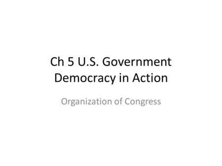 The organization Of Congress Chapter 5 Worksheet Answers or Unit 6 the Legislative Branch Section 1 – Congressional