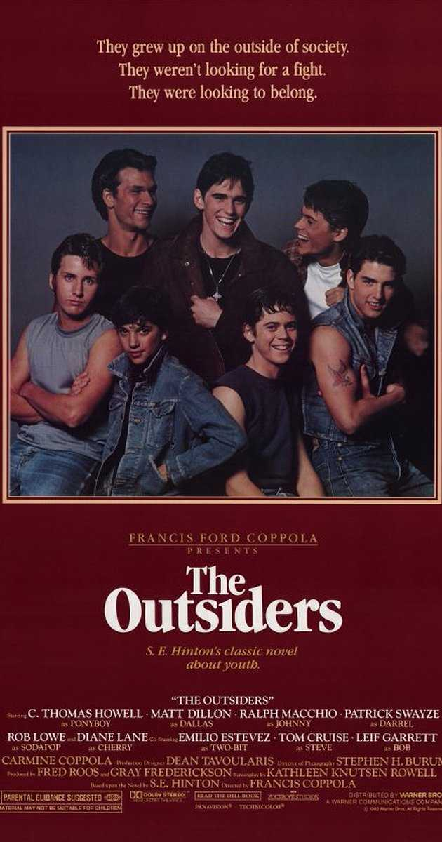 The Outsiders Movie Worksheet Along with the Outsiders 1983 Imdb