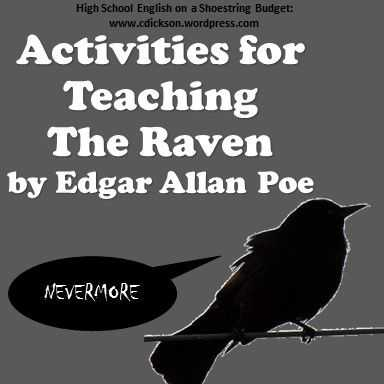The Raven Worksheets for Middle School or 96 Best Literature Edgar Allan Poe Images On Pinterest
