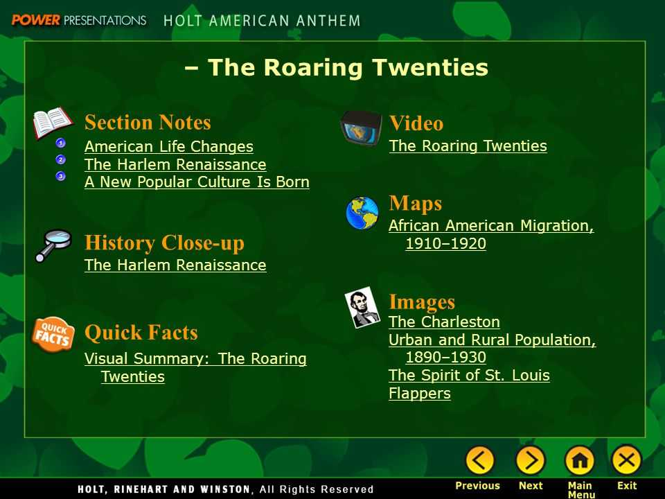 The Roaring Twenties Worksheet Answers or the Roaring Twenties Section Notes American Life Changes the Harlem