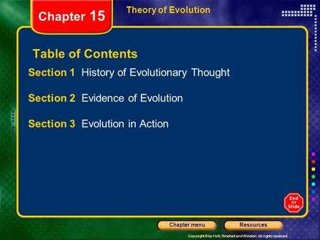 The theory Of Evolution Chapter 15 Worksheet Answers Also Chapter 15 theory Of Evolution Ppt Video Online