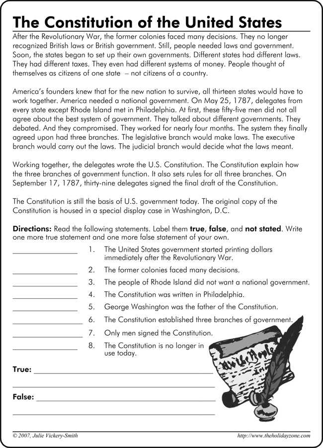 The Us Constitution Worksheet or the Us Constitution Worksheet the Us Constitution Worksheet Free