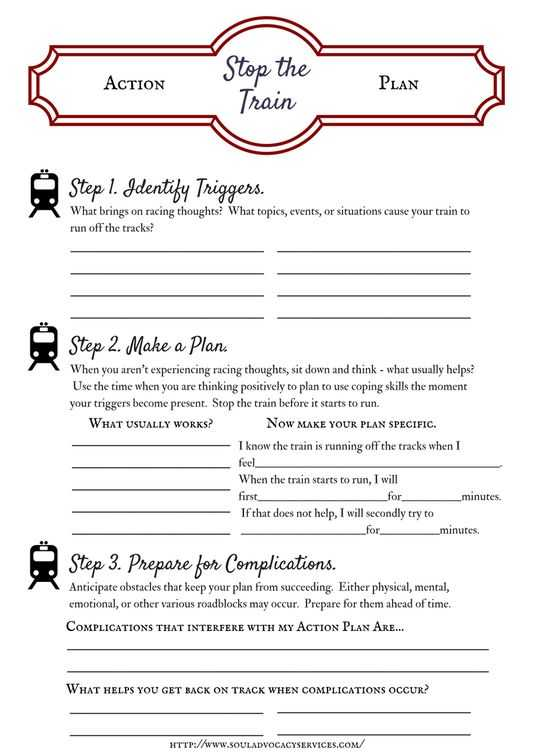 Thought Stopping Worksheet with 604 Best Counseling Practice Images On Pinterest