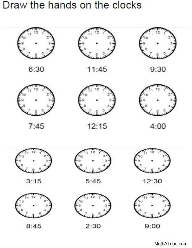 Time Worksheets Grade 3 with Free Telling Time Worksheets Missing Hands Time Clock