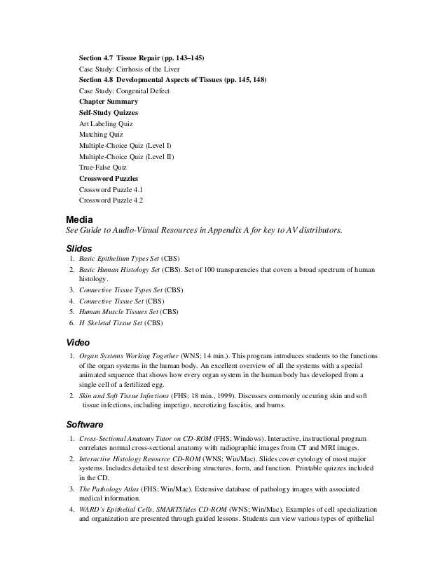 Tissue Worksheet Section A Intro to Histology with Großzügig Histology Quiz Anatomy and Physiology Ideen Menschliche
