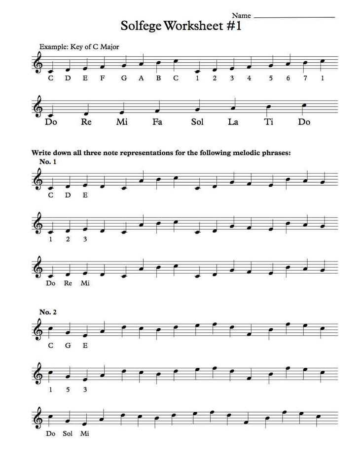 Treble Clef Worksheets and 33 Best Music Worksheets Images On Pinterest