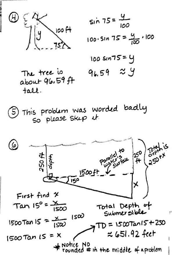 Trigonometry Problems Worksheet or Worksheets 45 Best Trigonometry Worksheets High Resolution
