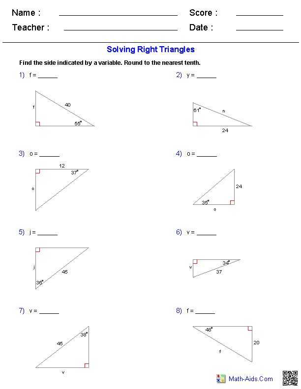 Trigonometry Ratios In Right Triangles Worksheet with 82 Best Trigonometry Images On Pinterest