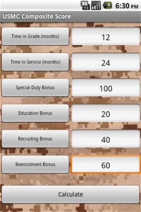 Usmc Pros and Cons Worksheet or Usmc Posite Score Worksheet Kidz Activities