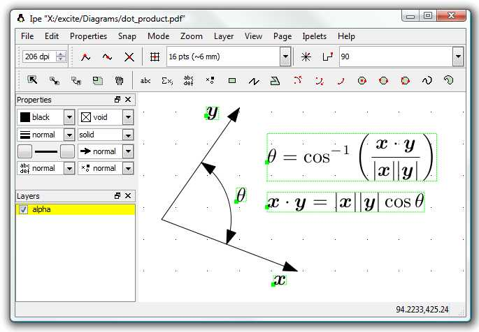Vector Worksheet Physics Also Ipe Vector Graphics