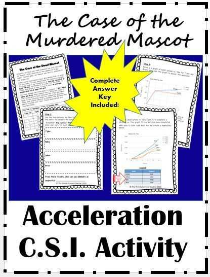 Velocity Acceleration Worksheets and 107 Best the Trendy Science Teacher Images On Pinterest