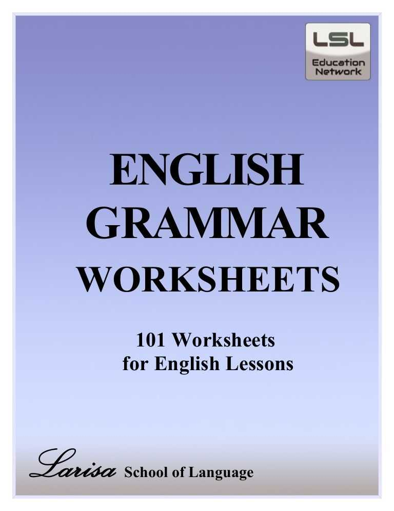 Verbs Worksheet Pdf with Free Pdf English Grammar Worksheets Contains 101 Worksheets