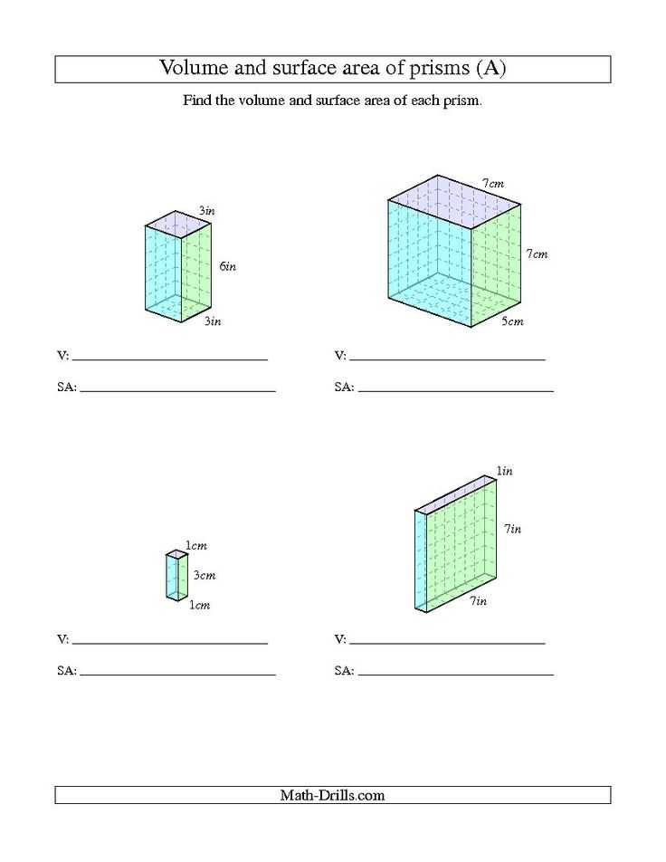 Volume Rectangular Prism Worksheet Answers Also 101 Best Wiskunde Images On Pinterest