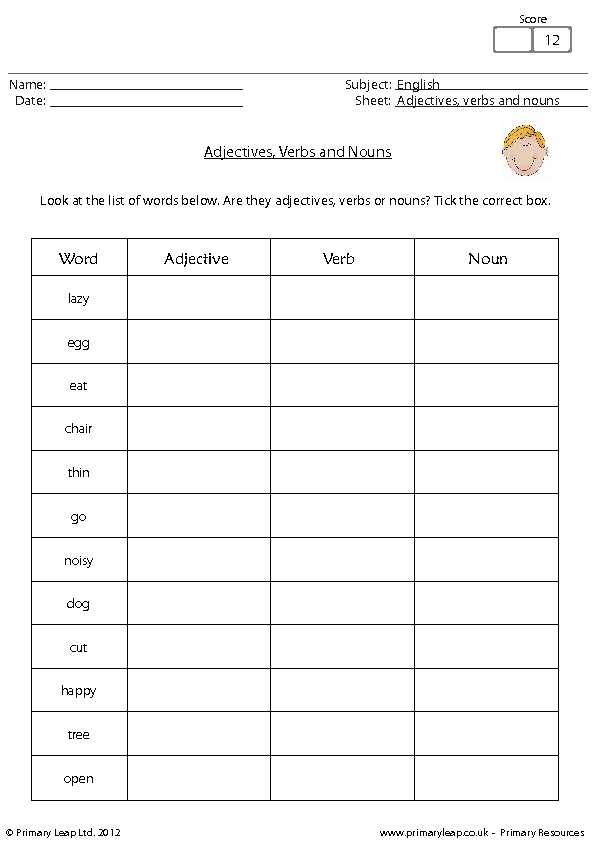 Words Used as Nouns and Adjectives Worksheet Also Transform Sentences with Nouns and Adjectives Worksheets with