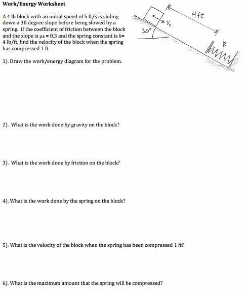 Work Power and Energy Worksheet or 16 Beautiful S Work and Power Problems Worksheet