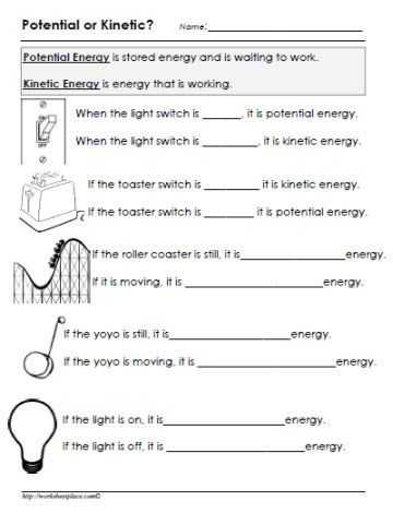 Work Power and Energy Worksheet or Be A Energy Saver