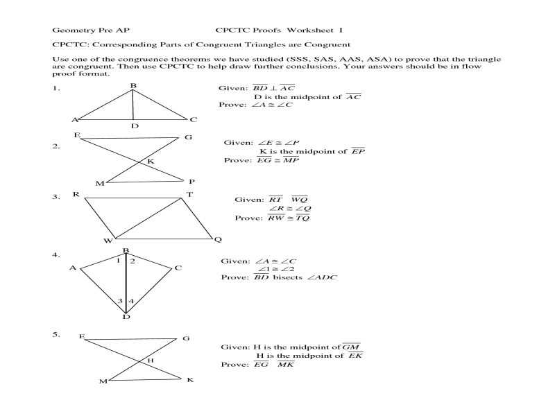 Worksheet 79 Using Cpctc Answers together with 18 Elegant Proving Triangles Congruent Worksheet Answers