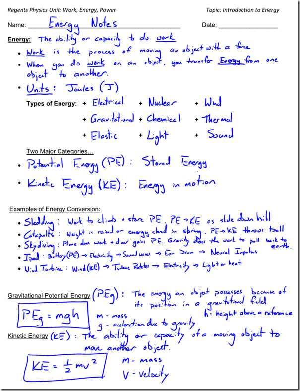 Worksheet Kinetic and Potential Energy Problems Answer Key as Well as Worksheet Potential Energy Problems Energy Etfs