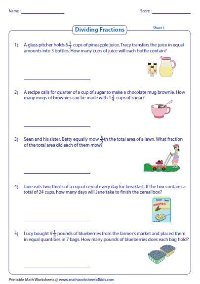 Writing Ratios In 3 Different Ways Worksheets Also Fraction Word Problems Worksheets