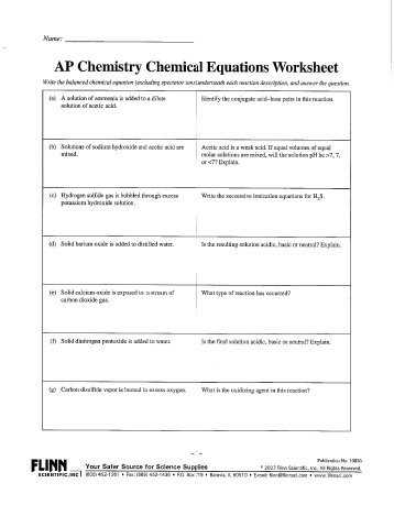 2.4 Chemical Reactions Worksheet Answers Along with Ap Unit 1 Worksheet Answers Jensen Chemistry
