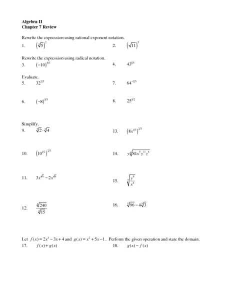 Algebra 2 Chapter 7 Review Worksheet Answers together with Function Notation Practice Worksheet Kidz Activities