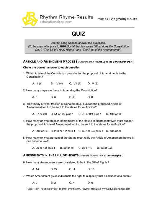 Bill Of Rights Scenario Worksheet Answers and Printables Bill Rights Worksheet Anitalophile Worksheets Printables