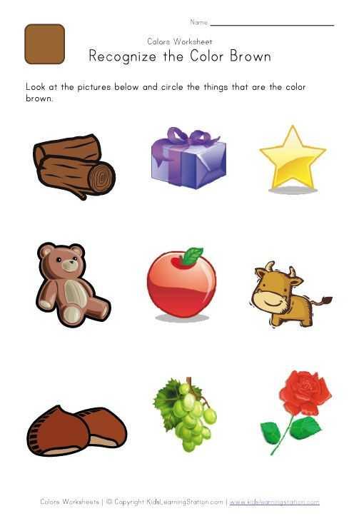 Brown Worksheets for Preschool Also 2014 07 Find De Brune Ting Math Pinterest