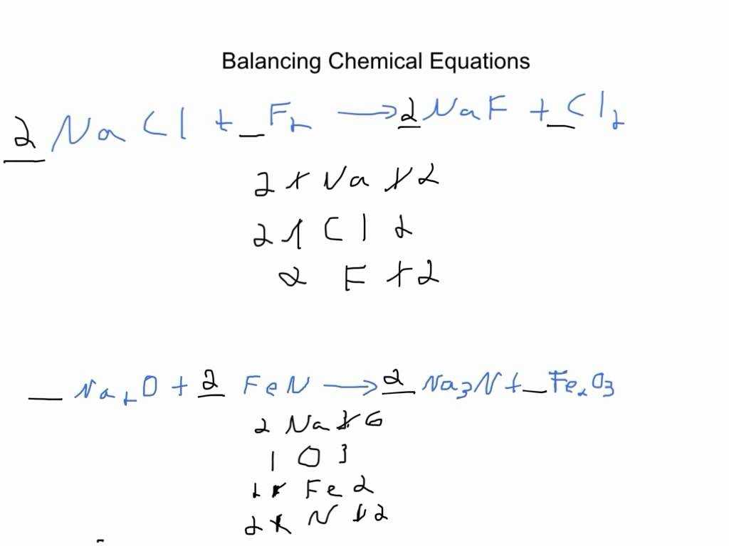 Chapter 7 Worksheet 1 Balancing Chemical Equations Answers as Well as 54 Balancing Chemical Equations