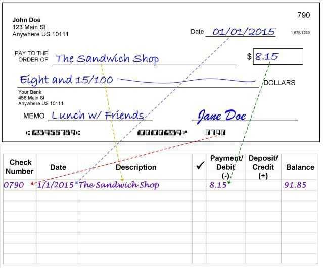 Checkbook Register Worksheet 1 Answers Also 10 Best Check Writing & Check Register Images On Pinterest