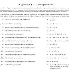 Identity Property Worksheets   Printable Worksheets and Activities for  Teachers [ 768 x 1024 Pixel ]