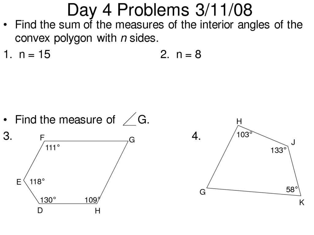 Classifying Triangles by Angles Worksheet or Exterior Angles A Polygon Worksheet Super Teacher Works