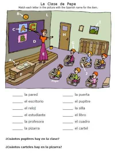 Classroom Objects In Spanish Worksheet Free together with 28 Best Classroom Objects Images On Pinterest