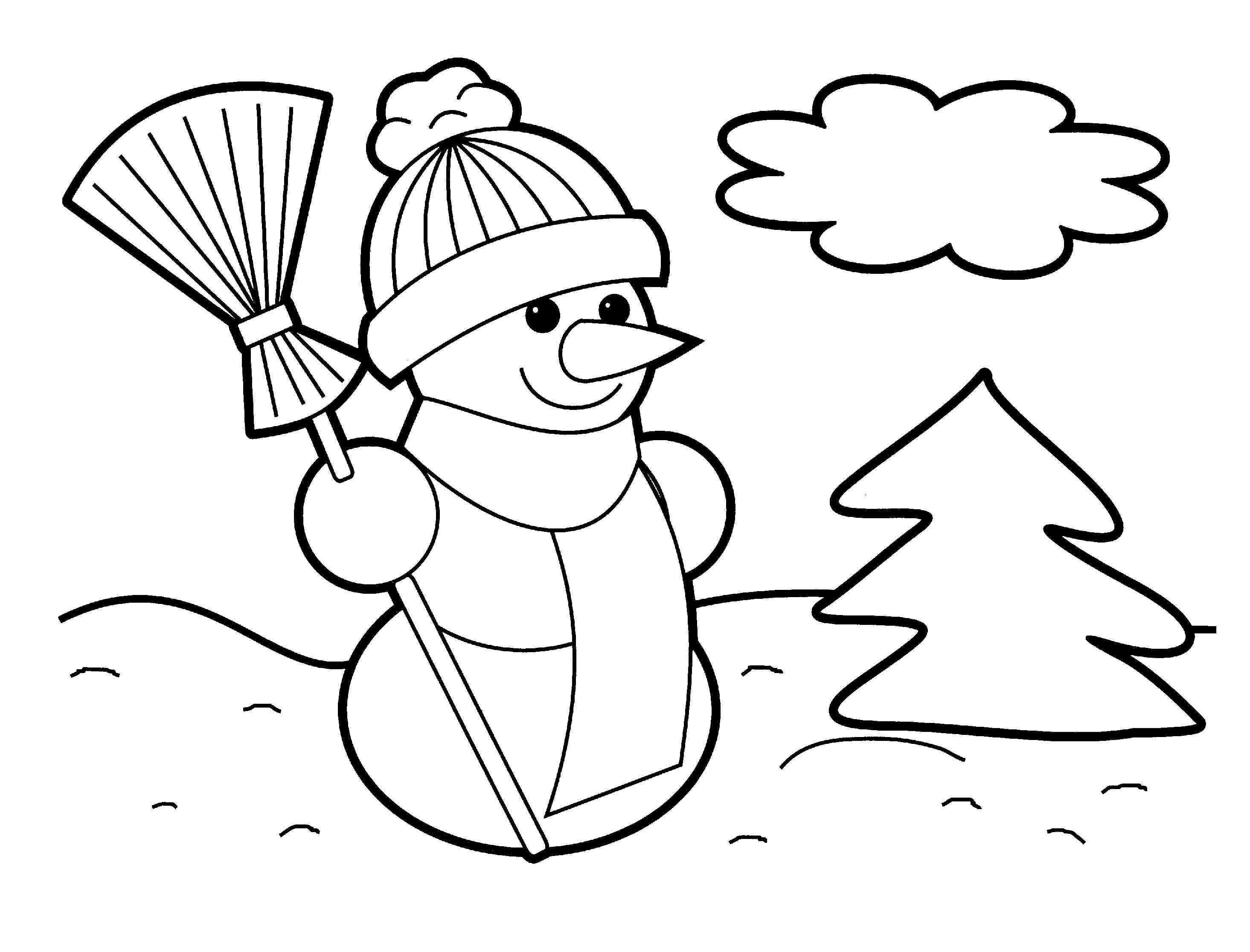 Coloring Worksheets for Preschool or Christmas Coloring Pages for Preschoolers Awesome Cool Coloring Page