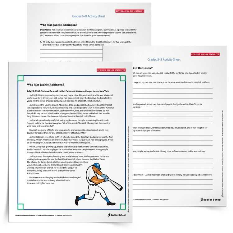 Correcting Run On Sentences Worksheets as Well as Download A Run On Sentence Practice Activity Students Must Be Able