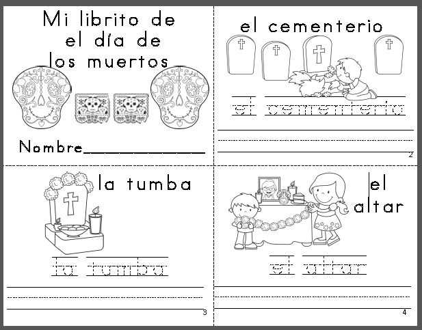 Dia De Los Muertos Worksheet Answers and 418 Best D­a De Los Muertos Images On Pinterest