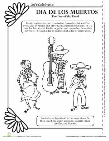 Dia De Los Muertos Worksheet Answers as Well as 240 Best Dia De Los Muertos Images On Pinterest