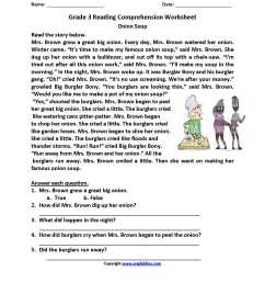 Drawing Conclusions Worksheets 3rd Grade   Printable Worksheets and  Activities for Teachers [ 2200 x 1700 Pixel ]