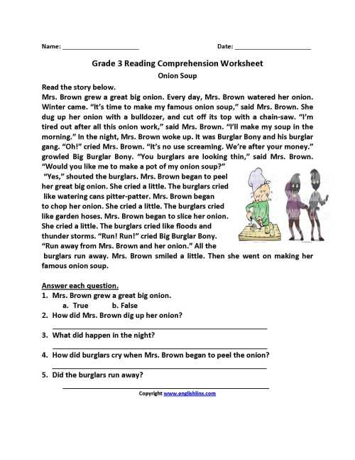 small resolution of Drawing Conclusions Worksheets 3rd Grade   Printable Worksheets and  Activities for Teachers