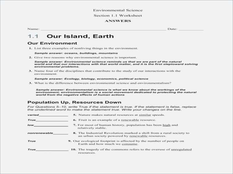 Ecological Footprint Worksheet with National Geographic forces Nature Worksheet Answers Breadandhearth