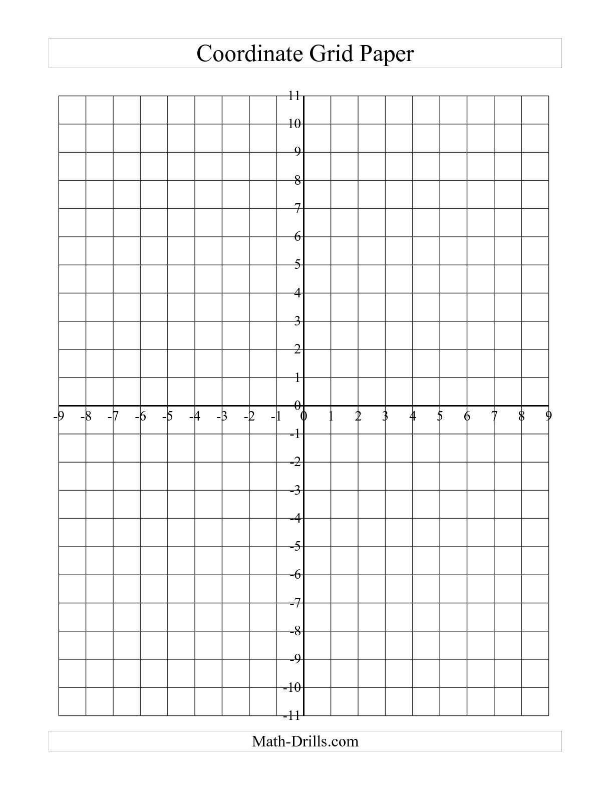 Elementary Teacher Worksheets Also the Coordinate Grid Paper A Math Worksheet From the Graph Paper