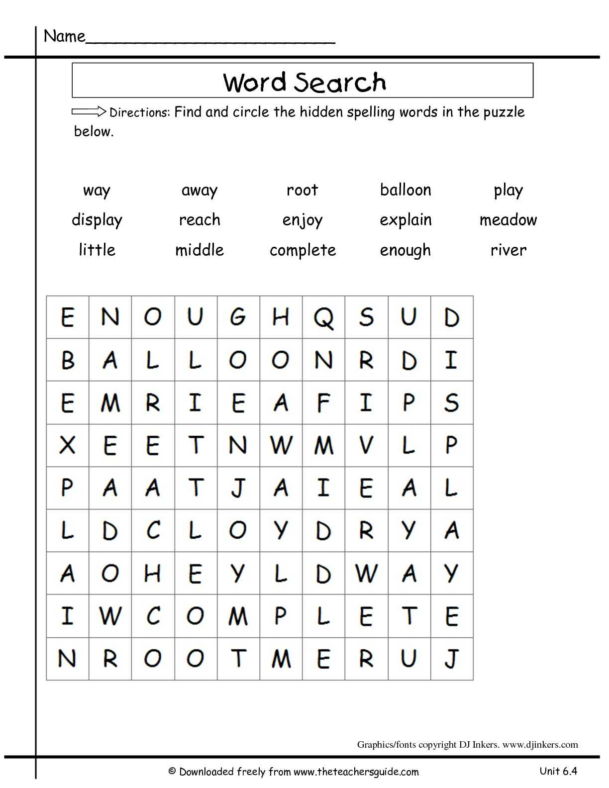 Exponential Growth and Decay Worksheet Answer Key with Second Grade Word Search Worksheets the Best Worksheets Image