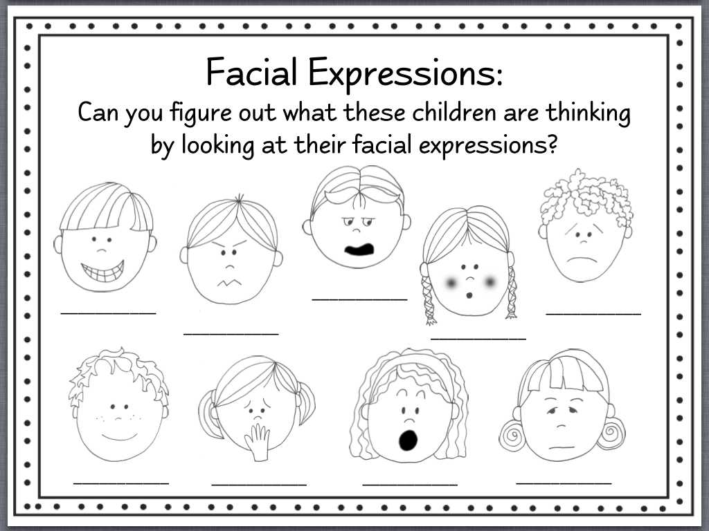 Factoring Expressions Worksheet or Facial Expressions Worksheets Bing Images