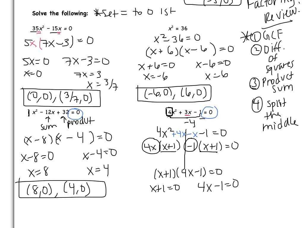 Factoring Quadratic Expressions Worksheet together with solving Quadratic Equations by Factoring Worksheet Answers