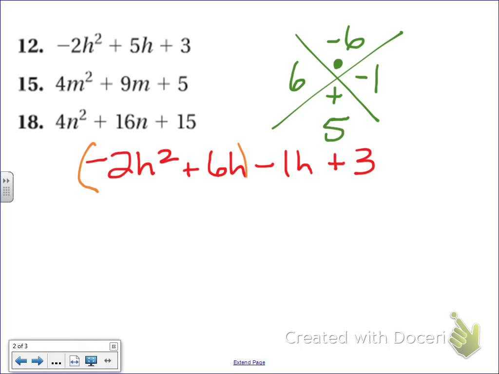 Factoring Trinomials Worksheet as Well as Awesome Math Help Factoring Elaboration Worksheet Math for