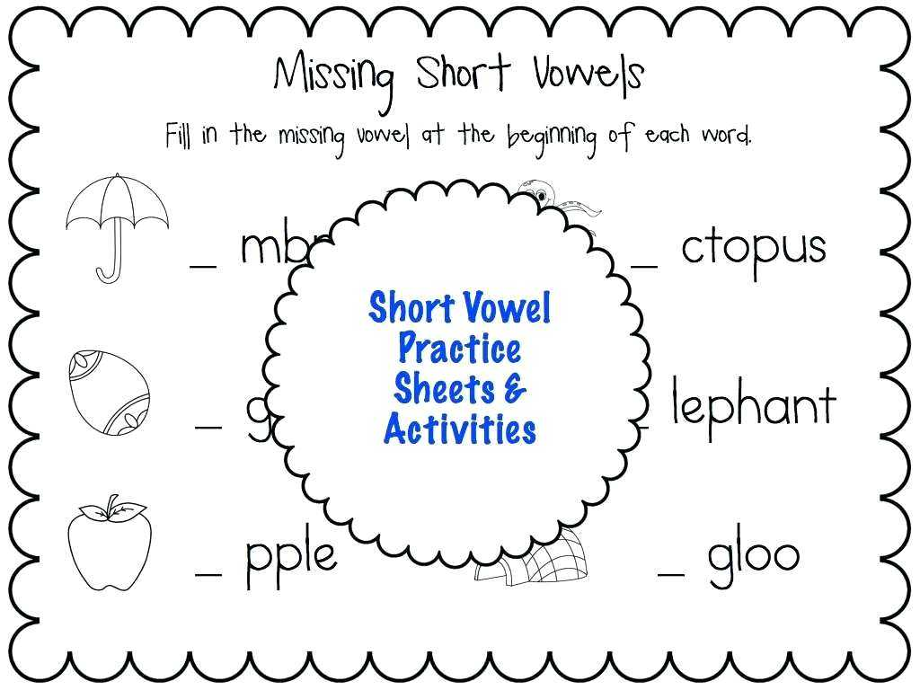 Free Contraction Worksheets with Missing Short Vowel Worksheets the Best Worksheets Image Col