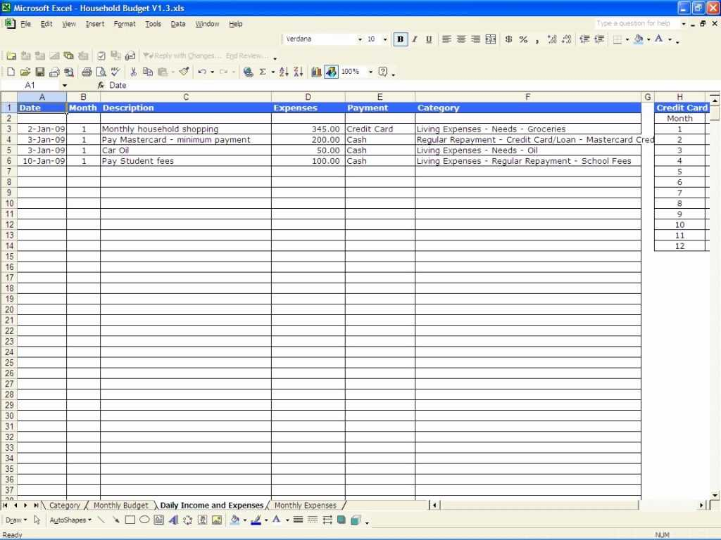 Free Household Budget Worksheet as Well as Small Business Spreadsheet for In E and Expenses Xls Aweso