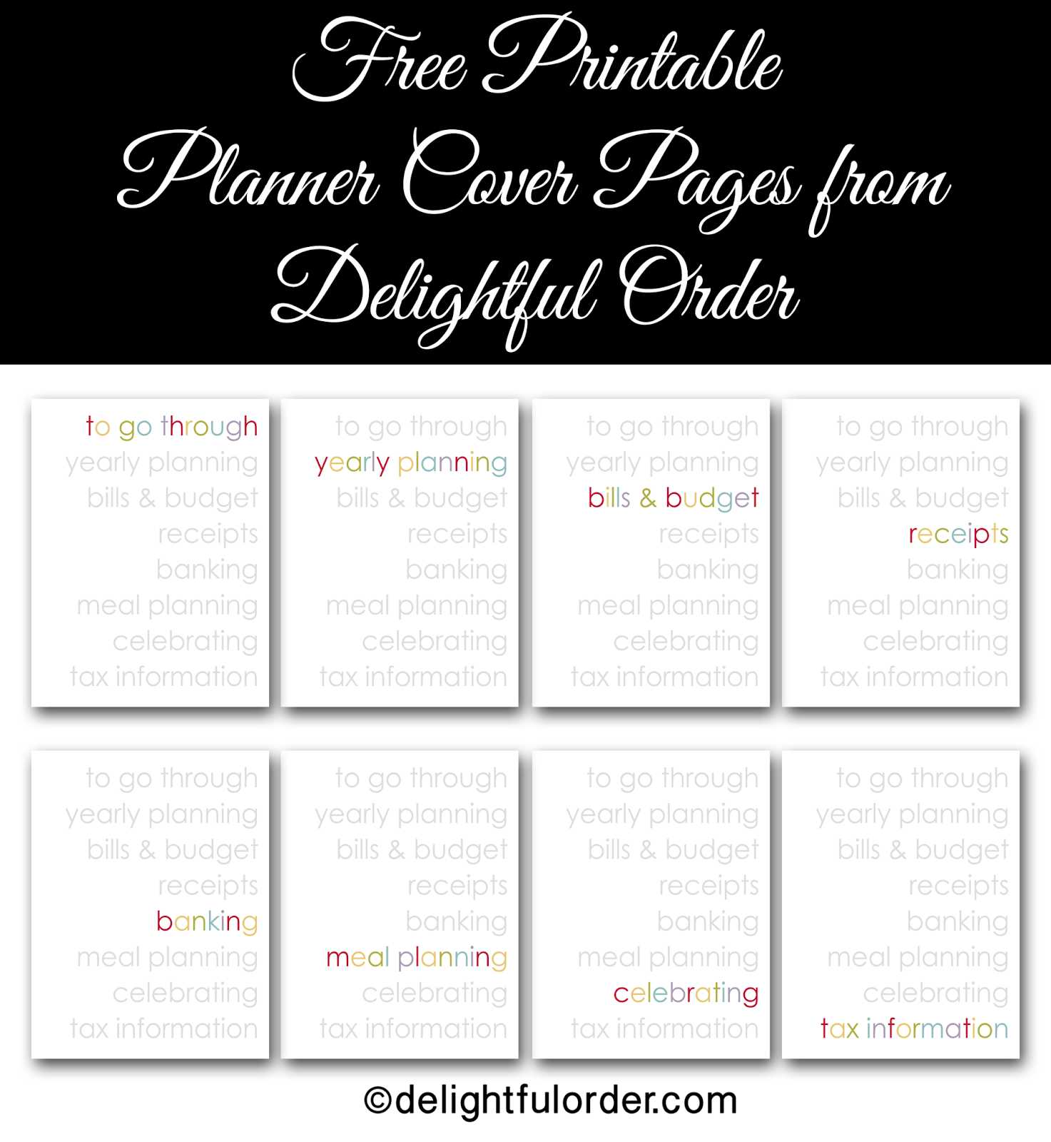 Free Printable Budget Binder Worksheets Also Free organizer organized All In E Planner Printables From