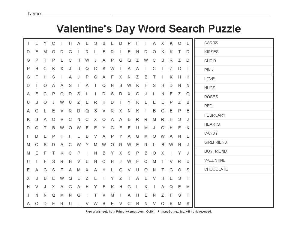 Gratitude Activities Worksheets Along with Valentine S Day Worksheets Valentine S Day Word Search