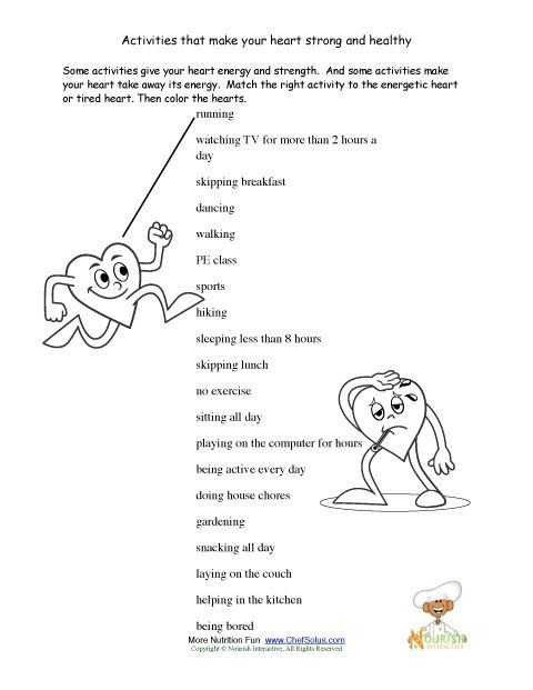 High School Health Worksheets Pdf and 24 Best Valentines Day Printables Images On Pinterest